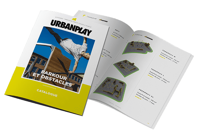 Catalogue Parkour et obstacles : Free running, chastag, OCR